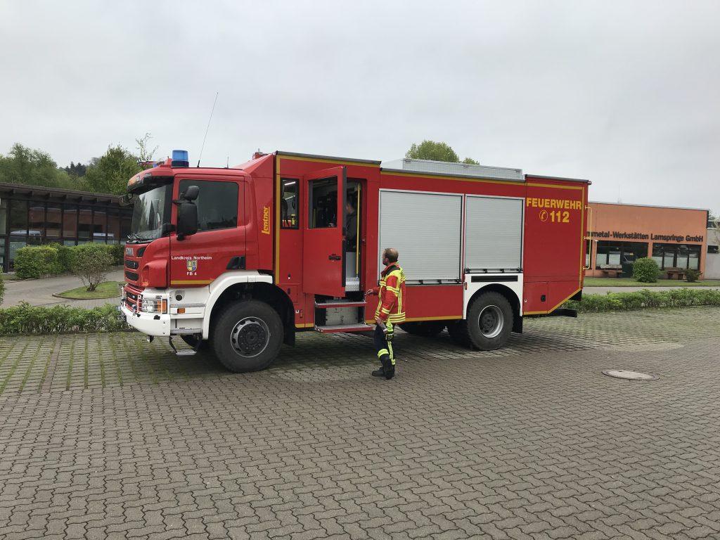 2019-05-11 Alarmübung Messeinsatz Lamspringe