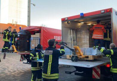 2020-12-19 Logistikeinsatz Impfzentren Landkreis Hildesheim
