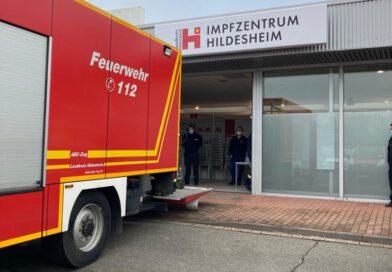 2021-02-28 Logistik-Einsatz Impfzentrum Hildesheim